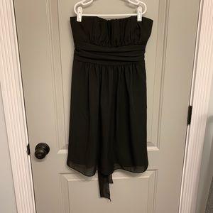 Black strapless Delia's size S dress